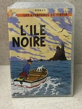 DVD LES AVENTURES DE TINTIN L'ILE NOIRE NEUF SOUS EMBALLAGE HERGE