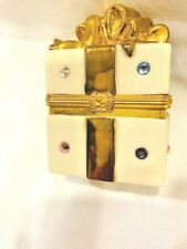 Rare Vintage Lenox Jeweled Only For You Gift Box - Great Ring Box