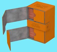 ULTIMATE GUARD TWIN FLIP n TRAY ORANGE 160+ XENOSKIN DECK CASE Gaming Card Box