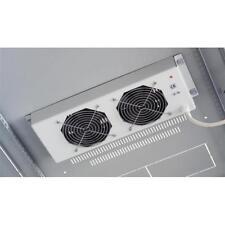 INTELLINET Gruppo di ventilazione per Rack 19'' 2 Ventole Grigio