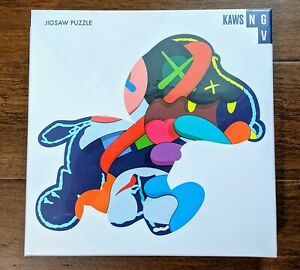 """KAWS NGV Exclusive """"Stay Steady"""" Jigsaw Puzzle 1000 Piece - In Hand SHIPS FAST"""