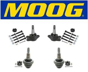 Moog Front Upper & Lower Ball Joints Fits 1998 Chevrolet K2500 K6292 / K6509