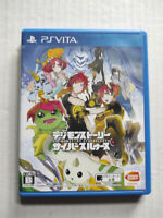 Digimon Story Cyber Sleuth Sony PlayStation Vita PSV Japanese Pre-Owned