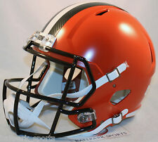 CLEVELAND BROWNS - Riddell Full Size SPEED Replica Helmet (2015)