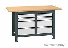 Jordan Metec 22673/84523 Werkbank mit 2 Schubladenboxen