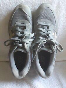 Asics grey with white sz 9