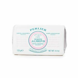 Perlier White Almond Absolute Comfort Bar Soap Brand NEW 4.4 oz