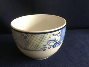 Wedgwood Home Indigo large open sugar bowl