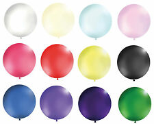 """1 METRE GIANT Super Strong Latex Balloons - Largest on Ebay 39"""" Many Colours UK"""