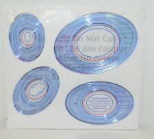 Creative Memories Oval Patterns Custom Cutting System Templates NEW
