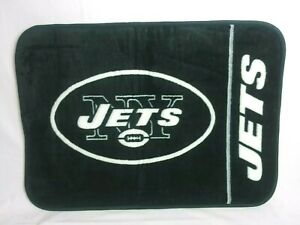NY Jets Football Rug NFL Green & White Team Logo Mat Home Decor Man Cave New