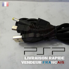 Cable chargeur + USB pour console PSP 1000/2000/3000