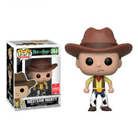 RICK & MORTY Figurine MORTY WESTERN EXCLUSIVE SDCC 2018 N° 364 POP FUNKO