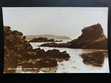 Anglesey: RHOSCOLYN HEAD c1928 Old RP Postcard
