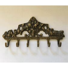 ANTIQUE BRASS VICTORIAN HOOK RACK - SignatureThings.com