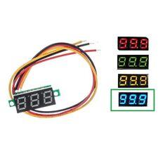 """1X 0.28"""" DC 0-100V / 2.5-30V 2/3-Wire Voltmeter LED Display Voltage Panel Meter"""