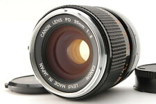 Canon FD 35mm f/2 MF Wide Angle Lens Overhauled from Japan