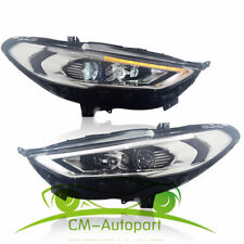 HID Headlights For Ford Fusion 2 Front Bumper LED Bi-xenon Head Lamps 017-up