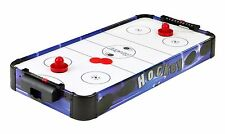 """32"""" Kids Portable Air Hockey Table Top Game Battery Power Blue Line by Carmelli"""