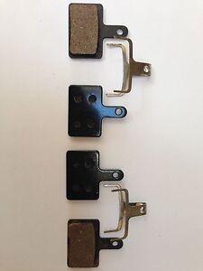 Tektro Auriga / Aquila  - 2 Pairs Semi Metal Resin Brake Pads