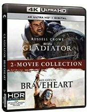 Gladiator / Braveheart 2-Movie Collection 4K Ultra Hd Blu-ray