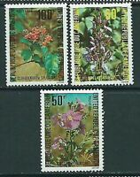 Cameroon - Mail Yvert 652/4 MNH Flowers