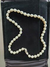 TIFFANY & CO 16 INCHES PEARL NECKLACE NEW NEVER WORN WHITE GOLD CLASP
