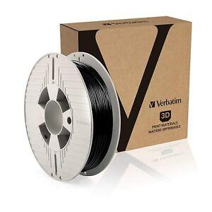 VERBATIM Durabio 3D Filament - 1.75 mm, Polycarbonate Resin, black (55152)
