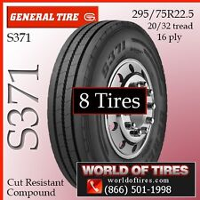 General Commercial Truck Tires 16ply Tires S371 22.5lp Tires