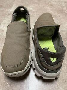 Skechers SN 53980 GOwalk 3 Khaki Slip On Casual Walking Shoes Men's Size 10.5