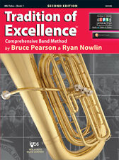 Tradition of Excellence: Tuba Book 1 - Book/Online Media W61BS
