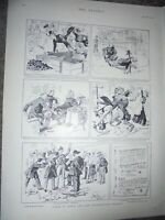 Force of Habit and the Consequences thereof Reginald Cleaver 1901 print ref AM