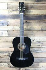 Johnson Jg-100 Student Acoustic Guitar , Black - Bridge Lift #R5587