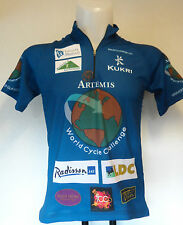 ARTEMIS WORLD cycle CHALLENGE jersey par kukri taille adultes extra/small neuf
