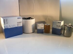 Audi A1 1.6 TDI Diesel Service Kit Oil Air Fuel Filter 2010 Onwards MAHLE
