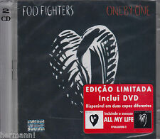 One by One by Foo Fighters (CD+DVD, 2002, BMG (Brazil)) Black cover 078636800820