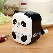Panda super safety tabletop pencil-cutting device / Sharpener White japan