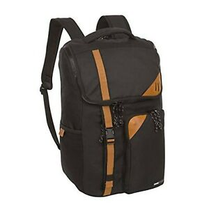 Swiss Tech School backpack with protective laptop compartment, black