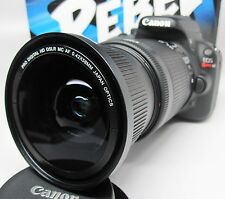 Ultra Wide Angle Macro Fisheye Lens for Canon Eos Digital Rebel T6i t5 & 85mm