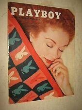 Vintage Playboy Magazine May 1956 Lynx With Lusty Larynx Jazz Record Jackets