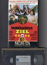 Sophia Loren  John Cassavetes  VERSTECKTES ZIEL   VHS Rarität  NEU  OVP
