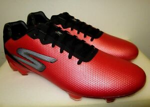 Soccer Shoes New Men Skechers Performance Go Soccer Galaxy RED 10 10.5 12.5 13