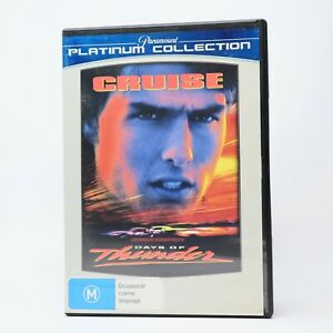Days of Thunder Platinum Collection Tom Cruise 2009 DVD R4 GC