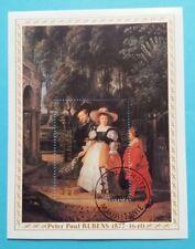 "Mauretanien: Michel Block-Nr. 20 ""400 Geb. P. P. Rubens"" aus 1977, gestempelt"