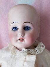 """15"""" Antique Bisque head marked Germany 2 on kid body needs TLC"""