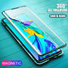 Magnetic Adsorption Glass Case Phone Cover For Samsung Galaxy Note 10 S10 Plus