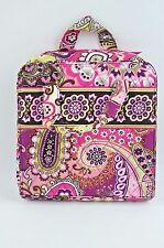 Vera Bradley Very Berry Paisley Tech Organizer Cosmetic Case Travel Bag Retired