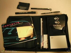 GM 1992 Chevy Corvette Owner's Manual (o) #10216092