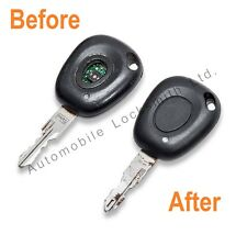 Renault Espace 1 button remote key fob REPAIR SERVICE for damaged faulty keys