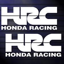 "6.0""X2P. HRC HONDA RACING TEAM STICKER DIE-CUT DECAL VINYL RACING NO BACKGROUND"